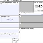 IRS 1099-NEC Form